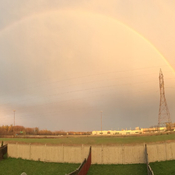 Full Rainbow 🌈 in Mississauga