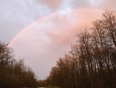 After the thunderstorm, rainbow to the east - Barrie, ON, CA