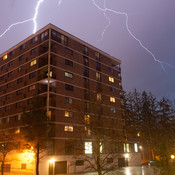 Lightning in Peterborough