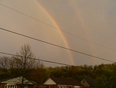 Double Rainbow after the Storm  - Stoney Creek, Hamilton, ON