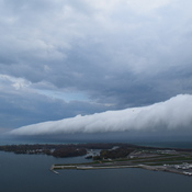 Weather Front over Toronto Island Airport (Billy Bishop Airport)