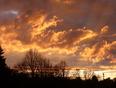 Evening sky, Waterloo, after storm. - Waterloo, ON