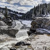 """Spring"" hike in the Elbow Falls Area"