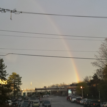 AMAZING BURLINGTON RAINBOW