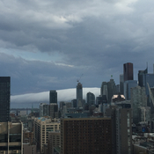 Thunderstorm rolls into downtown T.O. Thursday night!