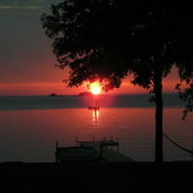 Sunset at Lake Simcoe