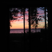 Summer sunsets at Lake Simcoe