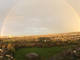 Rainbow from our balcony