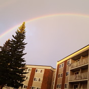 Beautiful Rainbow at Abbottsfield,Beverly Heights.