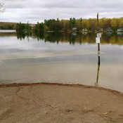 Sharbot Lake underwater dock