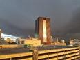 storm clouds  - Regina, SK