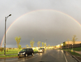 Double Double Rainbow - Edmonton, AB, CA