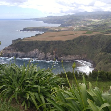 Coast near Ponta Delgada