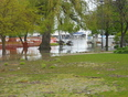 PORT DALHOUSIE, 2 WEEKS LATER AND 3 FEET MORE WATER - Port Dalhousie, Saint Catharines, ON