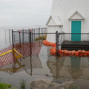 PORT DALHOUSIE 2 WEEKS LATER AND 3 FEET MORE WATER