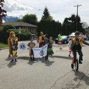 Young Lions on the Move at Creston Valley Blossom Festival Parade