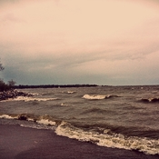 Windy & Raining @ Winnipeg Beach