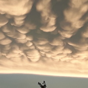 clouds after long plain tornado