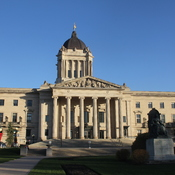 Manitoba Legislature Building and Grounds Plus The Forks