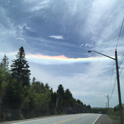 """Fire Rainbow"" - Circumhorizontal arc"
