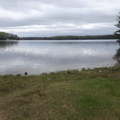 Lake at mattagaml first nation