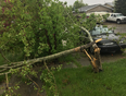 Wind storm in Airdrie  - Airdrie, AB, CA
