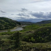 The red deer river valley