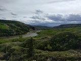The red deer river valley - Dry Island Buffalo Jump Provincial Park, AB