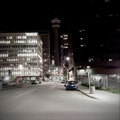 Calgary Tower black out for Manchester