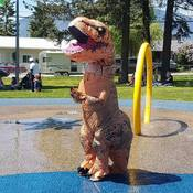 Lions-Dinosaur-Games-Food-Juggler- Splash Park
