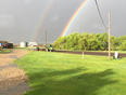 Double rainbow - Oakdale No. 320, SK, CA