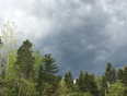 Storm clouds moving in  - Berry Mills, NB, CA