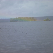Rainbow on Lake Opeongo