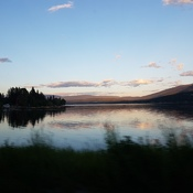 Sunset in the Shuswap