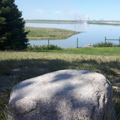 Beautiful day at the Buffalo look out. south of syncrude