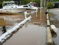 Overflowing river - Oakville, ON