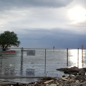 Port Dalhousie under water