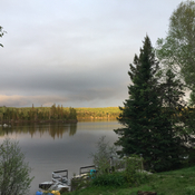 Evening on Eagle Lake