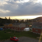 tonight sunset in gaspe quebec