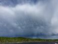 Mammatus clouds  - Fort Black, SK, CA
