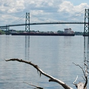 Ogdensburg - Prescott International Bridge.