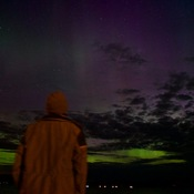 Solar Storm and Aurora Borealis as seen from Dalhousie, NB