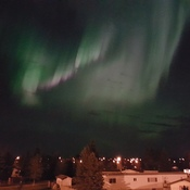 Northern lights over airdrie
