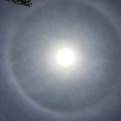 360° Rainbow Around the Sun