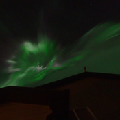 Northern lights on Saturday night
