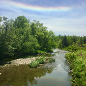 Sun Dog over the Don River