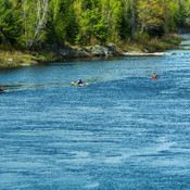 Kayaking on the Nepisiguit River