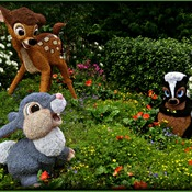 May Flowers and Bambi Topiaries !