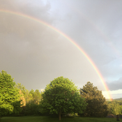 Rainbow over the Dundas Valley