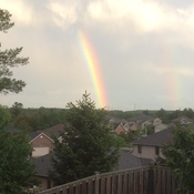 Rainbow after the storm